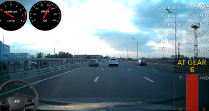 Хендай Крета - разгон до 100 км/ч